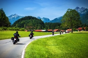 Die Führerscheinklassen beim Motorrad sind in A, AM, A1 und A2 aufgeteilt.