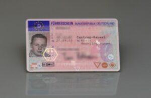 Seit 2013 gibt es den EU-Führerschein.