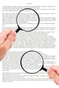 Um mögliche Fehler zu erkennen, sollten Sie jeden Bußgeldbescheid prüfen.