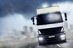 Einen Lkw zu fahren nach einem Schlaganfall, ist normalerweise nicht möglich.