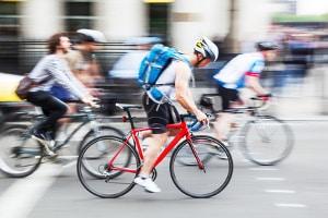 Bußgeld: Auch Verstöße mit dem Fahrrad werden geahndet.