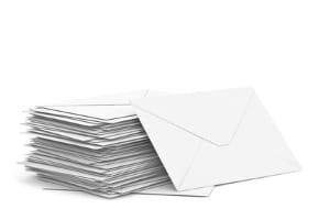 Die Brieflaufzeiten geben an, wie lange die Post zum Empfänger braucht.