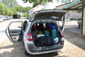 Formschlüssige Ladungssicherung: Alle Lücken müssen gestopft werden.