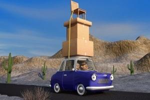Überladung: Halten Sie die Dachlast gering, damit das Auto stabil bleibt.