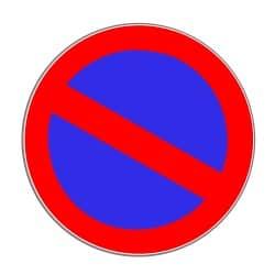 Halten im eingeschränkten Halteverbot: An diesem Schild ist es für weniger als drei Minuten erlaubt.
