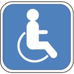 Das widerrechtliche Parken auf einem Behindertenparkplatz kostet 35 Euro.