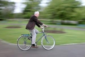 Führerschein weg: Das Fahrradfahren ist trotzdem erlaubt.