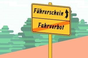 Führerschein weg: Neu zu beantragen ist er nur bei einem Führerscheinentzug.