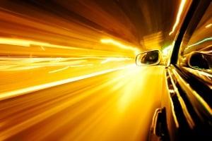 Sind Sie zu schnell gefahren in der Probezeit?