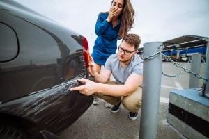 Probezeit & Führerschein: Ein Unfall mit Blechschaden kann schnell passieren.