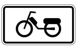 Ihr Kfz darf beim Führerschein 1b 125ccm nicht überschreiten.