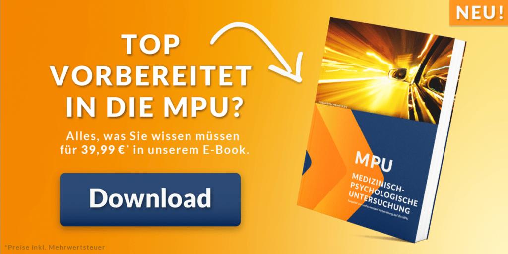 E-Book: MPU erfolgreich bestehen