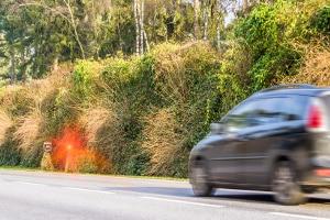 Eine Geschwindigkeitskontrolle macht es möglich, Temposünder zu überführen.
